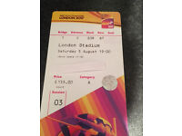 USAIN BOLT - Sat 5th August 7pm - GOLD CAT A - IAAF World Athletics Championships (Evening)