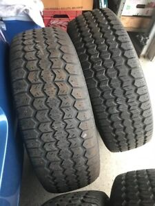 4 Uniroyal Ice and Snow tires 215 70 R15