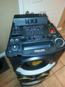 PHILIPS NX5 PORTABLE SYSTEM