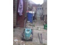 Electric BOSCH rotary mower