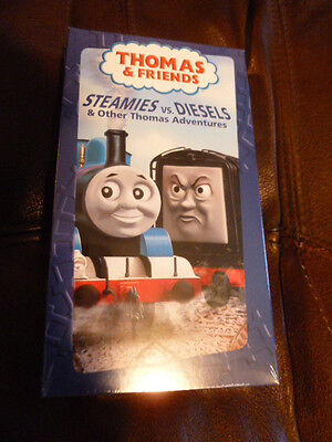 Thomas The Tank Engine Steamies vs. Diesels VHS Movie Sealed Unopened & Friends