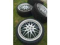 Konig rims, Pirelli tyres - NEED TO SELL URGENTLY - RRP £800
