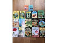 Tintin comics - 17 comics for sale