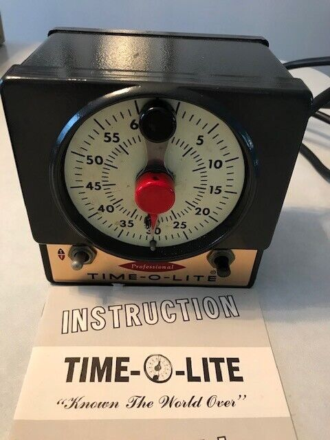 TIME-O-LITE DARKROOM TIMER-Used- Excellent Working Condition