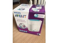 Philips Avent Electric 3 in 1 Steam Steriliser (rrp 44.99)