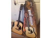 squiver fender acoustic guitar