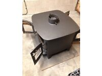 villager double sided stove 14-16 kw flattop