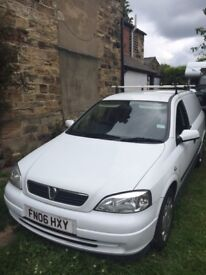 Vauxhall Astra Van 1.7D Mileage 98K (Currently non-runner so spares and repairs)