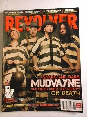 Revolver Jan.2009 Mudvayne 5 Finger Death Punch Bleeding Through Children Bodom
