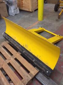 Snow Plough Fork Lift Attachment