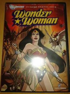 DC Comics Wonder Woman Animated DVD Movie