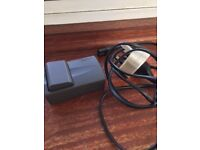 canon charger & battery