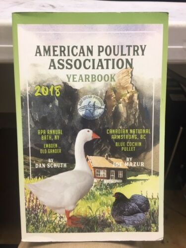 American Poultry Association Yearbook 2018