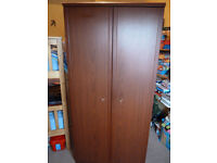 DOUBLE WARDROBE/3 DRAWER CHEST/BEDSIDE TABLE