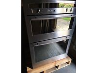 Neff Integrated Double Oven (with free integrated Neff fridge)