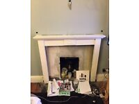 WHITE FIREPLACE SURROUND FOR SALE