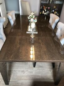 Beautiful Solid Wood Dining Table with 6 Chairs | RRP £1,399