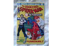 Amazing Spider-Man 129 reprint. 1st app of Punisher