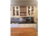 plate rack 600/800mm - handmade - bespoke - solid wood - pine - oak - kitchen unit - tulip wood