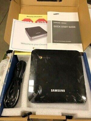 Samsung Chromebox Cpu Desktop Xe300m22-b01us New In Box Complete