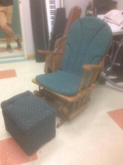 Rocking Chair with stool Grange Charles Sturt Area Preview