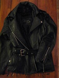 Manteau & Bottes de Moto (Femme)