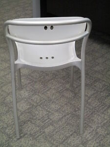Large Qty of Stacking Chairs-Metal Frame Plastic Seat & Back Peterborough Peterborough Area image 3