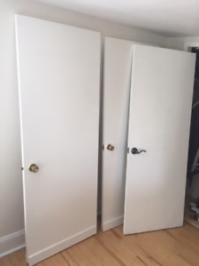 4 x Solid Wood Doors - Must be gone TODAY