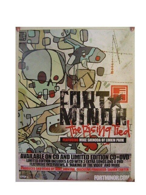 Fort Minor Poster Rising Tied Linkin Park FT
