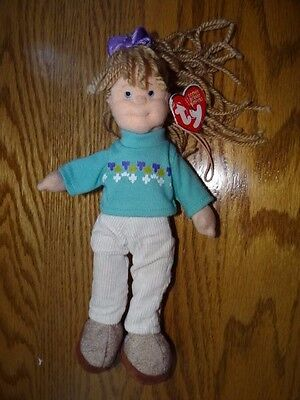 Hard to find Teenie Beanie Boppers Cool Cassidy Retired in 2003 with hang tag