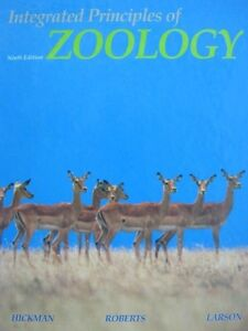 Integrated principles of Zoology Hardcover textbook