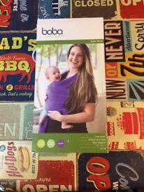 Boba Baby Wrap / Purple / 0-36 months / (7-35lbs / 2.5-15Kg)