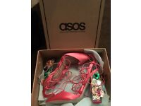 Size 5 Never Been Worn Sparkly Asos Heels