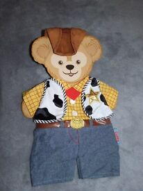 **NEW** DISNEY STORE BUILD A BEAR STYLE WOODY OUTFIT