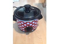***RED SLOW COOKER, QVC***