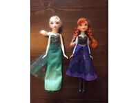 Disney Princess Belle, Elsa & Anna dolls, Miraculous Ladybug & Cat Noir bag and brand new puzzle