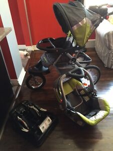 Baby Trend Expedition ELX Travel System Stroller Car Seat Combo
