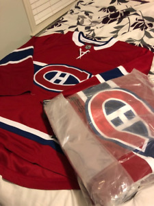 BRAND NEW MONTREAL CANADIANS FANATICS JERSEY FOR SALE!!