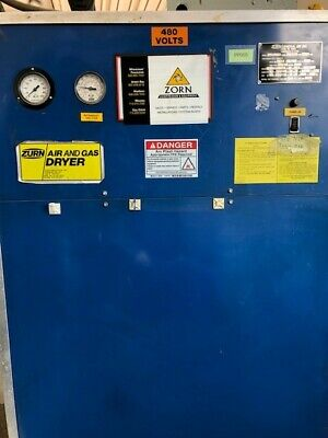 Zurn Compressed Air Dryer 275 Scfm Working Condition 460603ph