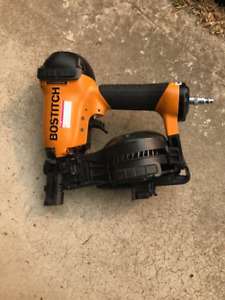 Bostich RN46-1, 1-3/4 roofing nailer. Used for 1 job. As new