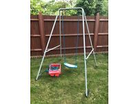 Kids Outdoor Swing with 2 Seats