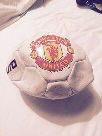 Signed Manchester United 'Team of 2007' Football