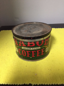 Nabob Coffee Tin