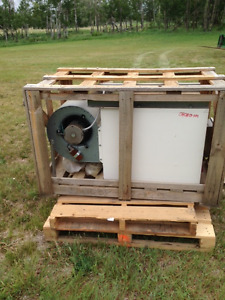 New Resnor overhead forced air furnace
