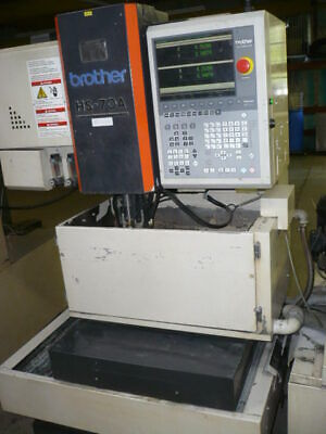 Brother Hs-70a Wire Edm Submerged Anti-electrolysis Awt 16.1 X 10.2