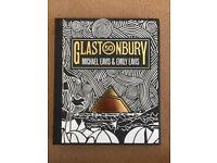 New Glastonbury Festival 50 hardcover book illustrated