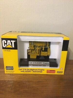 Caterpillar Cat C15 ACERT Diesel Engine 1:12 scale model By Norscot NIB