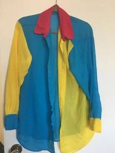 American Apparel multi-coloured blouse - pick up only.