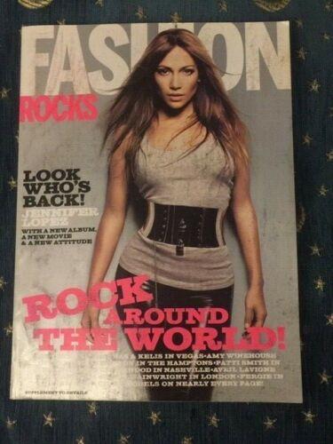 Fashion Rocks JLo, Amy Winehouse, Sean Lennon, Bjork, In My Tribe..2007 Magazine