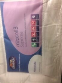 Silentnight Double Bed Mattress - Almost new